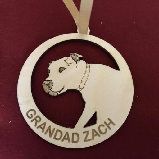 D4R Grandad Zach Christmas Tree Decoration